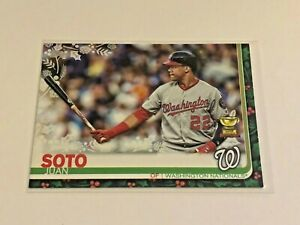 2019-Topps-Walmart-Holiday-Baseball-Base-Card-Juan-Soto-Washington-Nationals