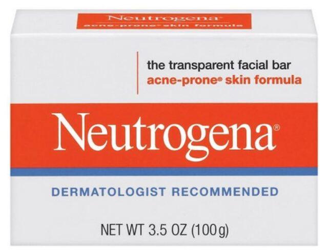 Neutrogena Acne Prone Skin Formula Facial Bar 3.50 oz (Pack of 3) 3 Pack - Image Ormedic Balancing Eye Lift Gel 0.5 oz