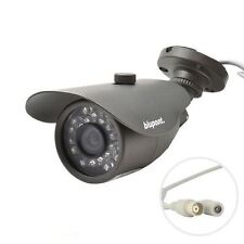 Blupont 800TVL Bullet CCTV Camera BNC IP66 Waterproof 20M IR Outdoor Home&Office