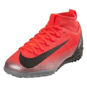 e1035a88a1e9 Nike Jr. Mercurial SuperflyX VI ACADEMY CR7 TF Soccer Shoes AJ3112 ...