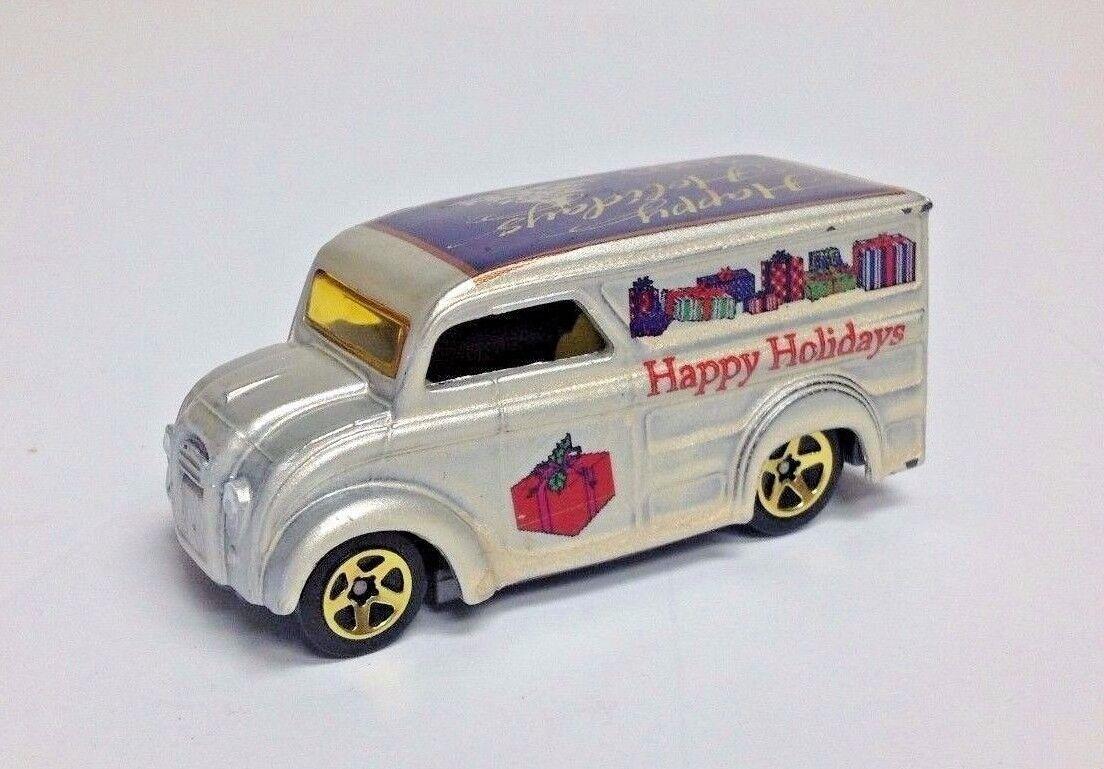 diseñador en linea 2003 Felices Fiestas Navidad lácteos entrega Hot Wheels Wheels Wheels  nueva gama alta exclusiva
