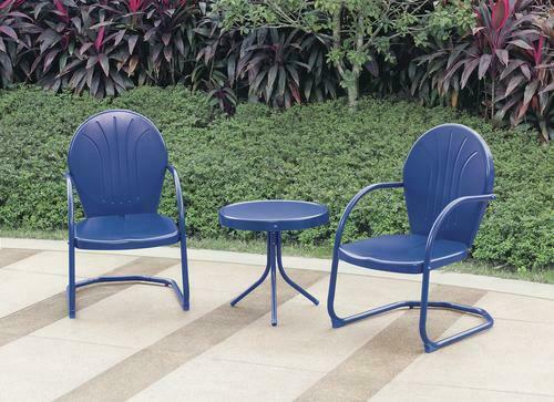 Chairs Vintage Metal Outdoor Furniture