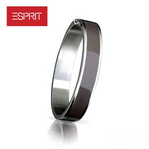 ESPRIT-Damen-Armreif-Armband-Edelstahl-Classy-Taupe-ESBA11380A620-UVP-69-90