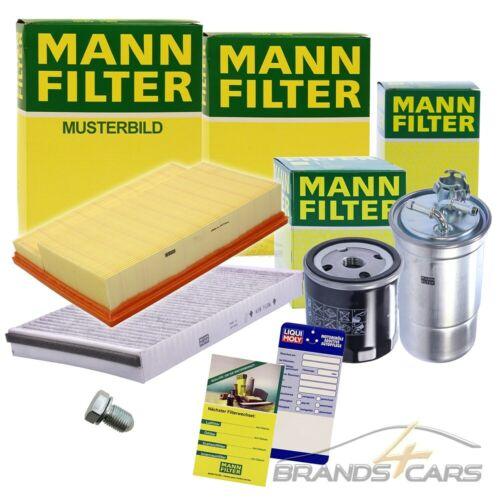 MANN-FILTER INSPEKTIONSPAKET FILTERSATZ B VOLVO S40 2 V50 1.6 D BJ 05