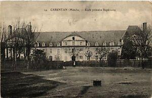 CPA-Carentan-Ecole-Primaire-Superieure-632970