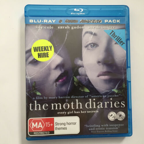 1 of 1 - The Moth Diaries (Blu-ray, 2013, Blu-Ray ONLY) - DISK ONLY - NO CASE
