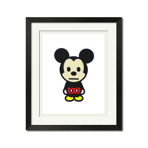 A Bathing Ape x Mickey Mouse Cute Urban 27x36 Poster Print