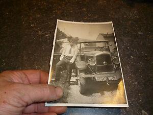 Ancienne-Photographie-Voiture-a-identifier-Gabriel-Voisin-Citroen-5cv