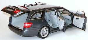 Mercedes E Klasse T Modèle S212 Elegance 2009 Minichamps Gris Métal Tenorit 1/18