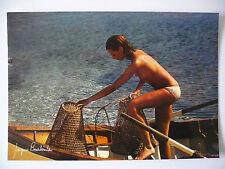 Carte Postale   JACQUES  BOURBOULON    Femme  Woman   Postcard