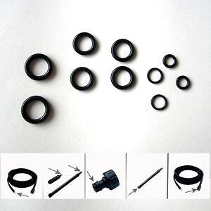 Pack of 10 x hose to TRIGGER O rings for the Nilfisk E130 E140 etc