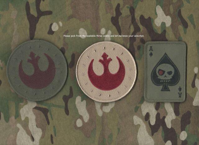 USMC FORCE RECON RANGERS SNIPER burdock SSI: Star Wars REBEL Pilot Insignia