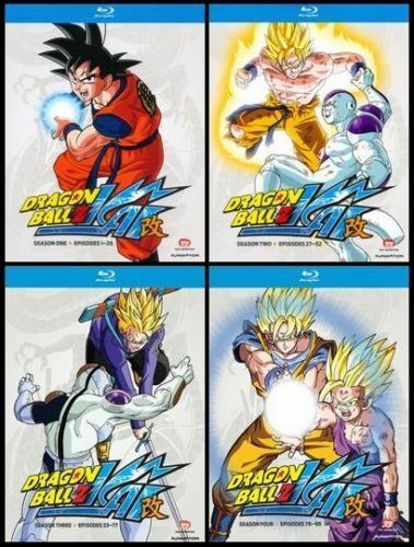 dragon ball z kai season 3 blu ray ebay