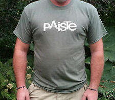 """PAISTE CYMBALS"""" T-SHIRT  SIZE'S  S/M/L/XL/XXL Cymbals/Drums/Percussion/Gongs"""
