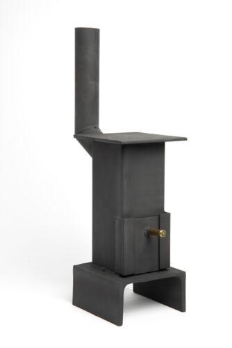 Miniature Mini Coal Wood Burner stove smoker shed summerhouse workshop garage
