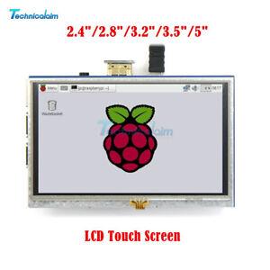 Neu Display für Raspberry Pi 3// 2// B 3.5/'/' bis 7/'/'  LCD HDMI Touch Screen DE LG