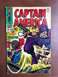 Captain-America-108-1968-7-0-FN-Marvel-Key-Issue-Comic-Silver-Age-Trapster