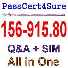 Check Point CCSE Update R80 156-915.80 Exam Q&A PDF+SIM