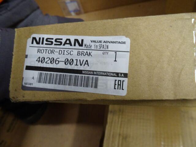 Genuine Nissan Qashqai Front Brake Discs