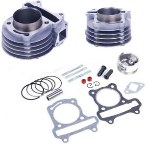 Details about 1Set 50mm Big Bore Cylinder kit for GY6 100cc 139QMB 139QMA  Scooter Engine 4T