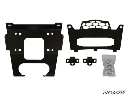 S 900 Prior to 08//31//2014 SuperATV Winch Mounting Plate for Polaris RZR 900