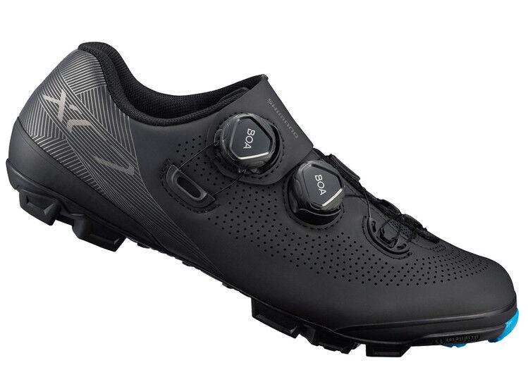 Shimano XC7 Carbono MTB Boa Bicicleta de Montaña Zapatos Negros Sh-Xc701 43 (Us