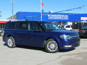 2013 Ford Flex | Dual Climate | DVD | Back-Up Camera | Sunroof