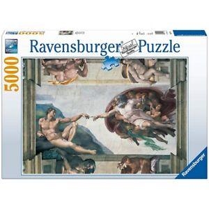 Puzzle-5000-Michelangelo-La-Creazione-New-by-Ravensburger
