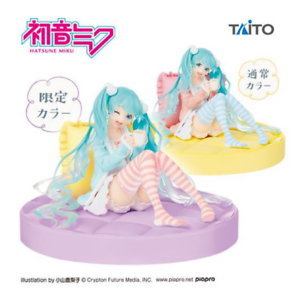 Limited Special Color Wink Hatsune Miku Figure Original Summer Clothes  JAPAN