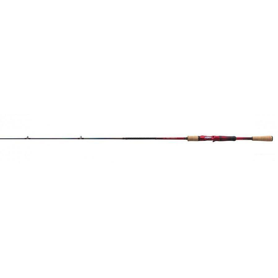 Shimano New World Shaula 15101F-3 Baitcasting Caña para Lubina