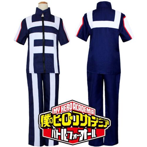My Hero Academia Boku no Hero Academia Kohei Horikoshi Gym Cosplay Costume Suit