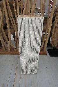 Konsole Säule 94cm Holz Dekorsäule Möbel Asia Stone Köln Dekoration