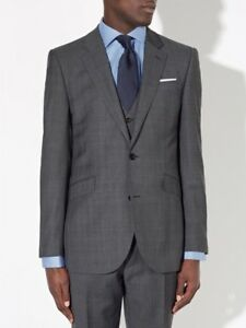 JOHN-LEWIS-Wool-Princewales-Check-Tailored-SB2-Jacket-Blazer-Grey-40L-RRP-140