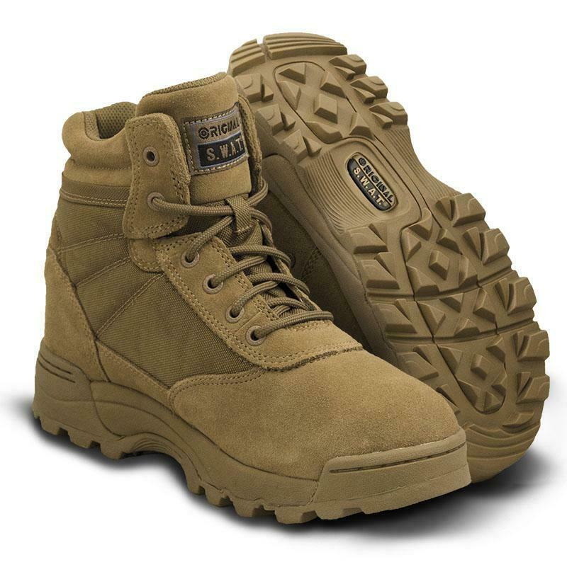 Original S.W.A.T. 115103 Men's Classic 6  Boots Breathable Coyote SWAT shoes