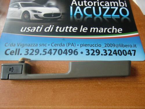MANIGLIA SPORTELLO INTERNA GRIGIO DX FIAT PANDA FINO AL 2003