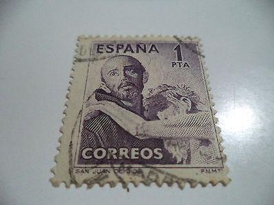 SELLO DE ESPAÑA EDIFIL 1079 UTILIZADO, EN MUY BUEN ESTADO