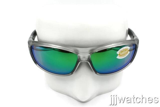 Costa Del Mar Saltbreak Sunglasses BK-10-OGMP Tortoise 580P Green Polarized Lens
