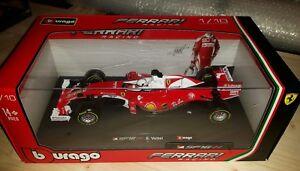 F1 Ferrari SF16-H S.VETTEL 1/18 BURAGO - Italia - F1 Ferrari SF16-H S.VETTEL 1/18 BURAGO - Italia