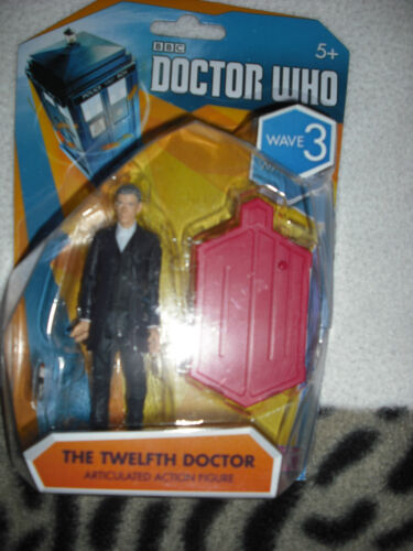 new costume 12th doctor peter capaldi  3.75 inch figure Doctor who   wave 3
