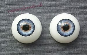 HALF-ROUND-REBORN-DOLL-OPTICAL-ACRYLIC-EYES-BABY-BLUE-COLOUR-18MM-20MM-22MM