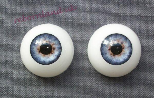 Semicircolare Reborn Doll Ottica Occhi Acrilico-colore Blu Baby - 18mm, 20mm, 22mm