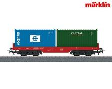 Märklin H0 44700 Containerwagen Start up OVP DB neu