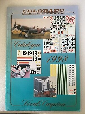 Catalogue Colorado 1998 Catalogue De Décalques