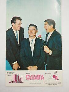 Los-Caracteres-en-el-Casbar-Teatro-Sahara-Hotel-las-Vegas-Oversize-Postal
