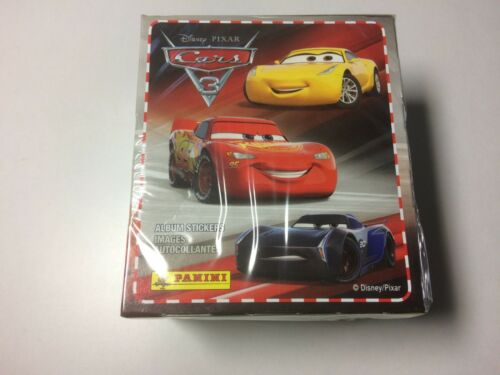 CARS 3 Disney Panini 2017 BOX da 36 Pacchetti-Packetts Figurine-stickers