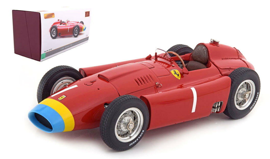 CMC M-181 Ferrari D50  1 German GP 1956 World Champion-J M FANGIO échelle 1 18