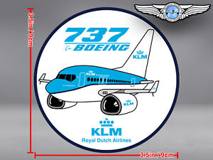 KLM-ROYAL-DUTCH-AIRLINES-PUDGY-BOEING-B737-B-737-IN-NEW-LIVERY-DECAL-STICKER