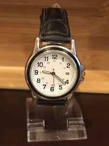 Classic-Men-s-Quartz-Watch-New-Battery