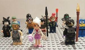 LEGO-veritable-Minifigures-10-mixte-personnage-mini-figurines-avec-accessoires