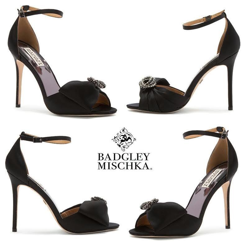 molto popolare Badgley Mischka Tess Pump Pump Pump Heels Dress Classic Pumps Party Christmas scarpe NIB  Sito ufficiale